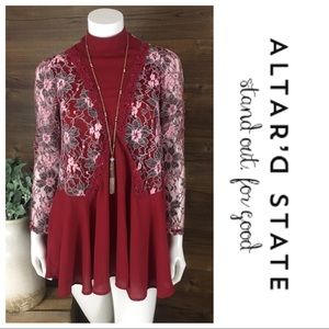 Altar'd State Lace Meadow Dress